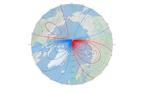 地球磁北极移动太快,科学家提前更新磁场模型地图