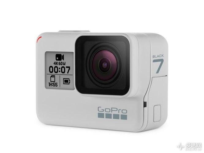 GoPro HERO 7 Black迎来首款限量白色 最高1200万像素拍照