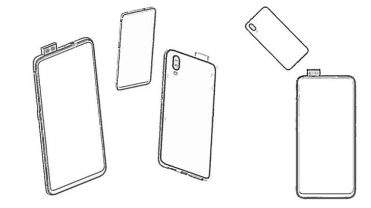 vivo手机新专利曝光 采用弹出式双摄像头