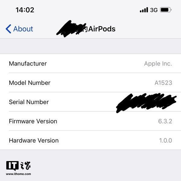 跳跃式,苹果AirPods升级最新6.3.2固件