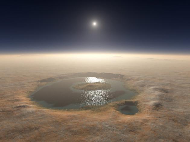 如果火星上有水,那么这些水都去哪里了?