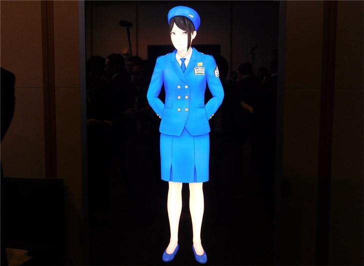 """日本推出世界首个""""虚拟警备员""""系统,真人大小、AI加持"""