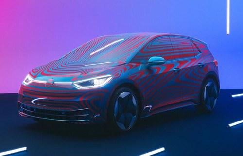 大众ID.3电动汽车已有超过1万人预订,明年年中开始交付