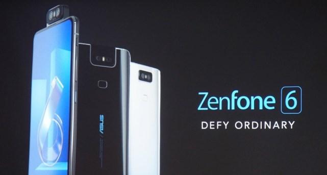 华硕ZenFone 6正式发布:骁龙855+旋转摄像头,售价499欧元起