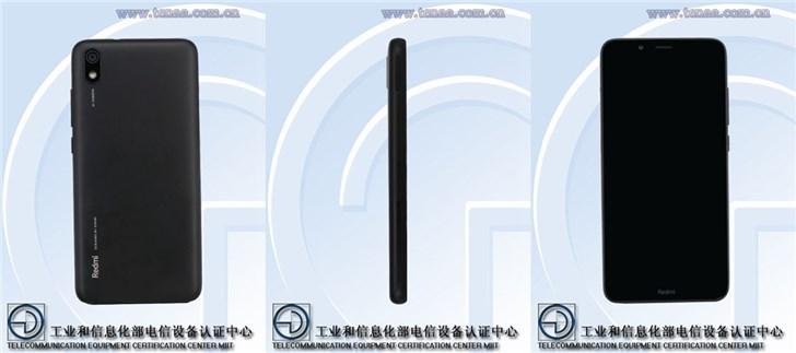 工信部公布红米7A硬件参数:5.45英寸屏,后置单
