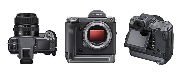富士发布GFX100无反中画幅数码相机 搭载1亿200万像素