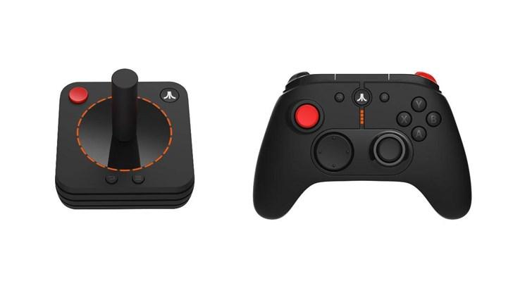 雅达利VCS主机:复古游戏杆和现代手柄的结合