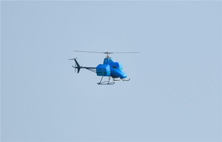 天猫618前夕,菜鸟完成无人直升机跨琼州海峡飞行