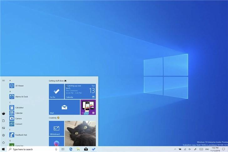 微软推送2019 Windows 10更新五月版18362.145发布预览