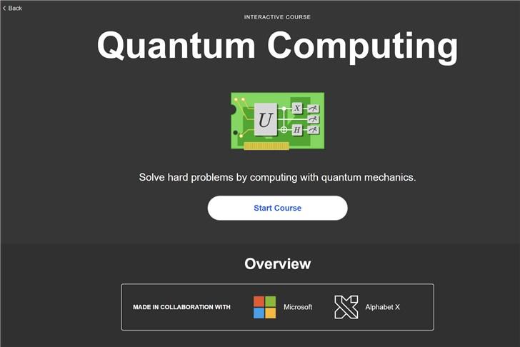 学习吧!微软和*rilliant合作推出量子计算互动课