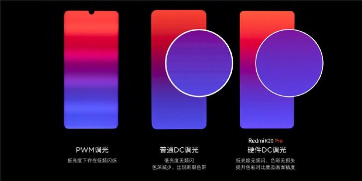 红米品牌总经理卢伟冰:Redmi K20 Pro手机将使用硬件DC调光