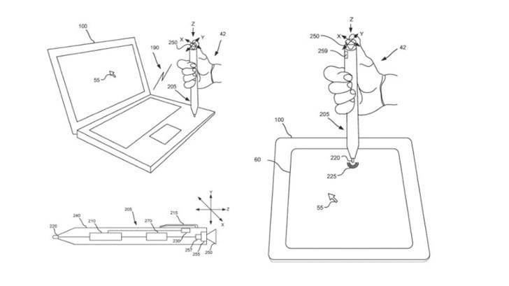 微软新专利曝光:有望推出多功能Surface Pen