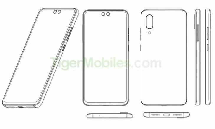 中兴手机新专利曝光:屏幕双打孔