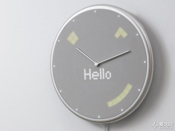 不止看时间:天气预报、来电显示在这个智能时钟上都能看到