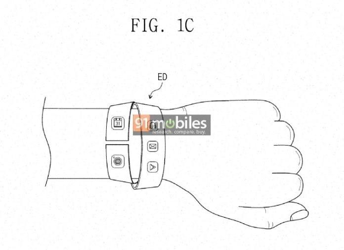 三星柔性显示屏专利曝光 专为可穿戴设备设计