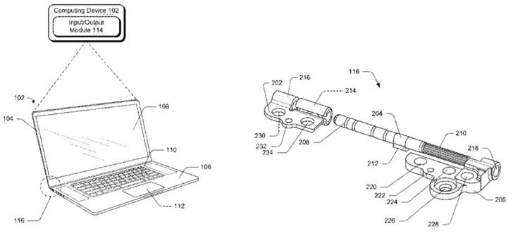 微软新专利曝光:Surface Laptop 3新型铰链将更耐用