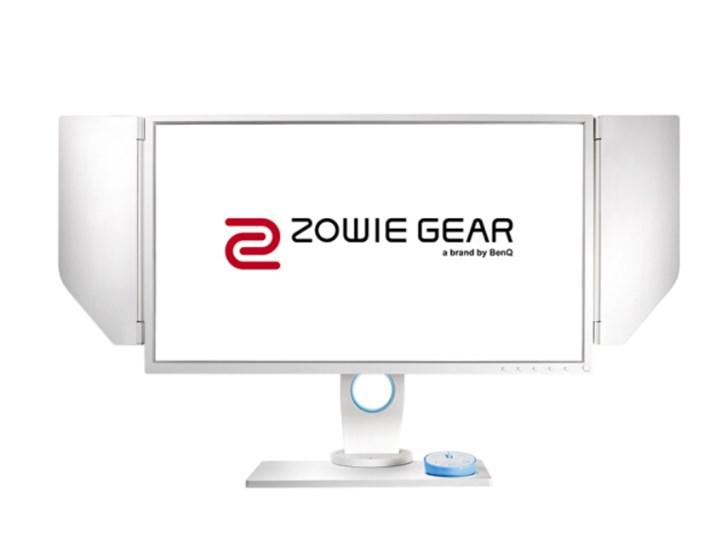 明基卓威奇亚新品显示器上架:白色机身,240Hz/1ms响应