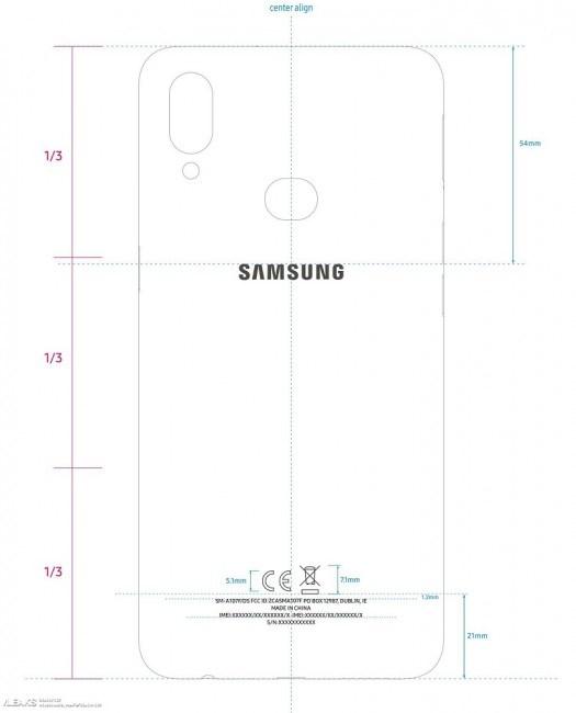三星Galaxy A10s现身FCC:双摄像头,3900mAh电池