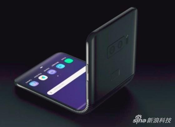 外媒:三星正研发翻盖折叠屏手机,后盖有个小