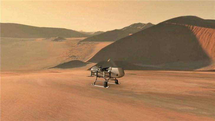 "NASA宣布:计划在2026年利用多旋翼无人飞行器探索土卫六""泰坦"""