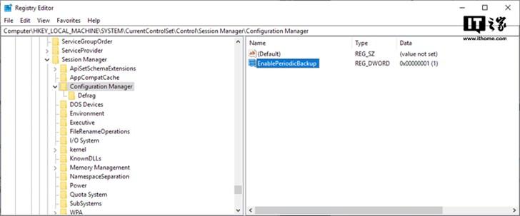 不是Bug:微软称自Windows 10四月更新起已关闭注册表自动备份功能