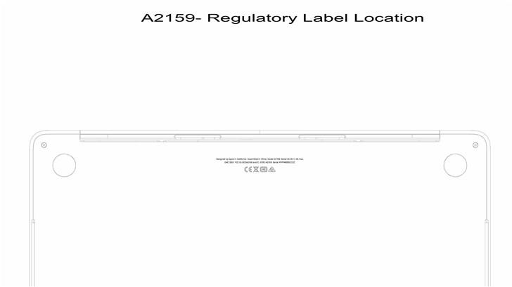 苹果神秘13英寸MacBook Pro曝光:型号A2159,可能配