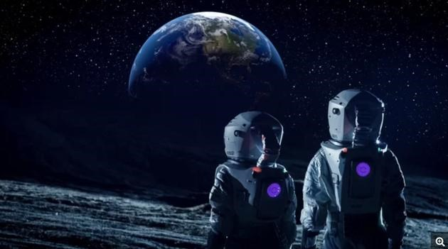 如果你生活在月球上,会看到什么