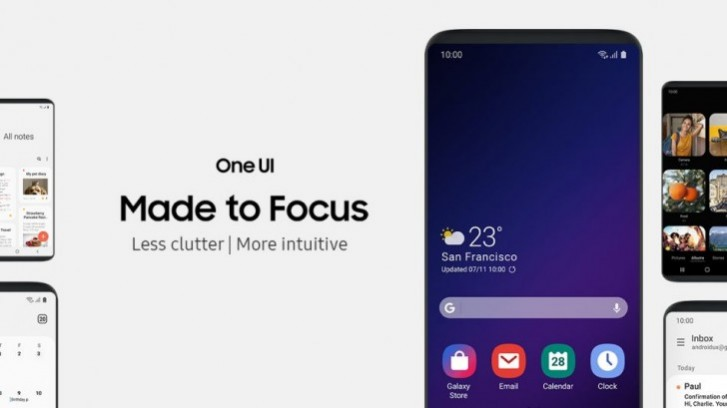 消息称三星One UI 2.0将基于Android Q:Galaxy Note 10有