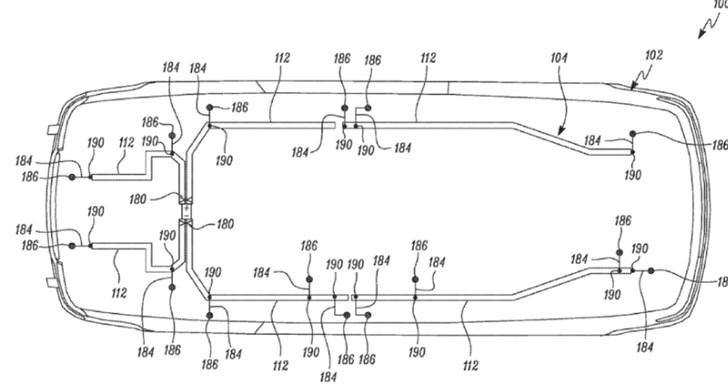 特斯拉提交新型布线结构专利申请 适用于汽车自动化组装