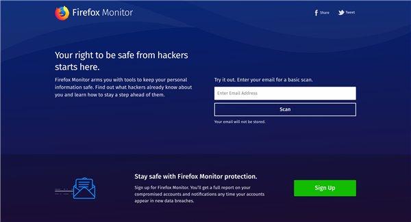 Firefox浏览器将向用户警告被泄露的登录信息