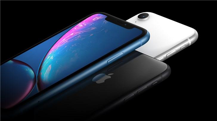 iPhone 11发布前,苹果iPhone XR已占美国iPhone近一半销量