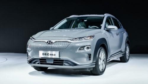 北京现代首款纯电动SUV昂希诺EV拟9月上市-第1张图片