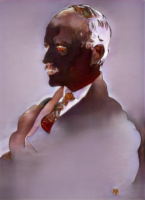 美术老师去世后,他做了一个算法模型,为老师的线稿上色-第6张图片