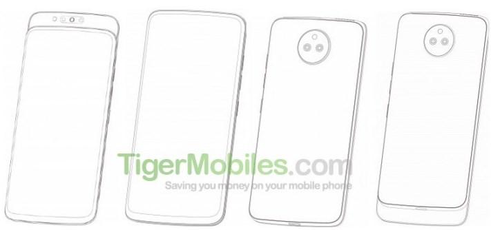 联想最新手机专利曝光:圆形后置相机+滑盖设计