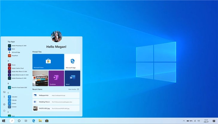 Windows 10概念版视频:全新开始菜单、流畅设计、