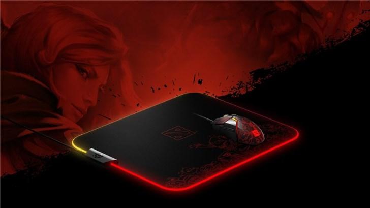 赛睿推出《Dota 2》定制外设 包括鼠标和鼠标垫