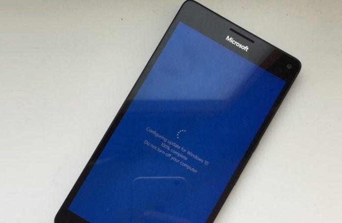 微软Lumia 950 XL刷Windows 10 ARM项目更新:增强性能和