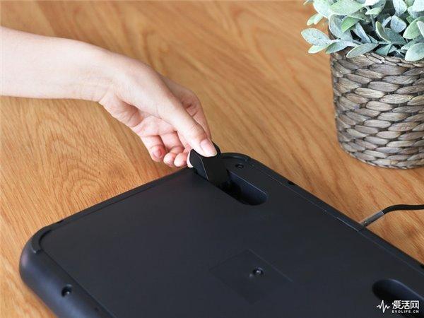 暖身先暖脚,日本公司推出脚踏加热器:可自动断电-第5张图片
