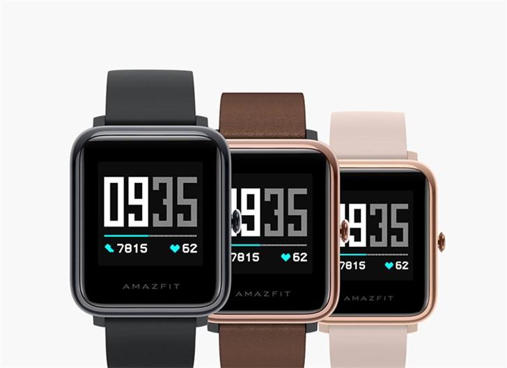 華米Amazfit米動健康手表今日開售:采用藍牙5.0連接 699元