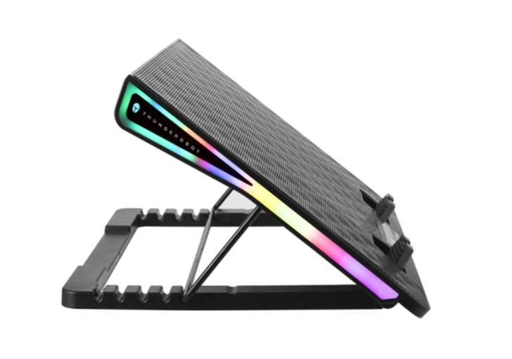雷神推出风洞笔记本散热器:搭载液晶屏 售价129元