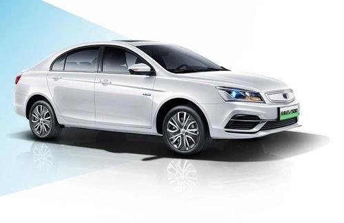 吉利帝豪EV500純電動車上市 提供兩個電池容量版本