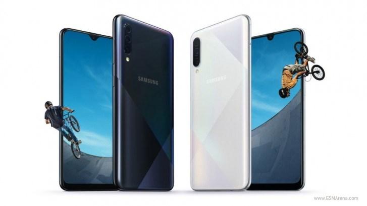 三星Galaxy A30s/A50s 配置公布:全新背板+新摄像头