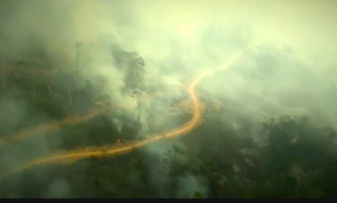 """馬克龍:為亞馬遜雨林提供""""技術和財政援助""""的協議已接近達成"""