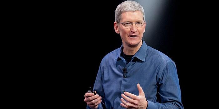 库克向慈善组织捐2.37万股苹果股票:价值500万美元
