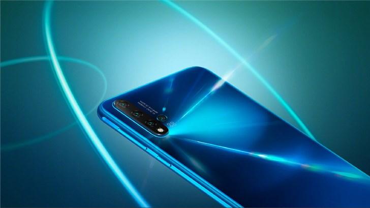 华为nova5 Pro推出苏音蓝配色,8月30日开售
