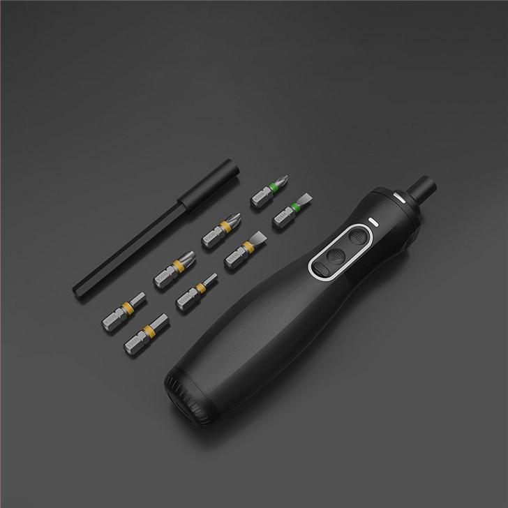小米众筹wiha电助力螺丝刀:双动力模式/Type-C充电