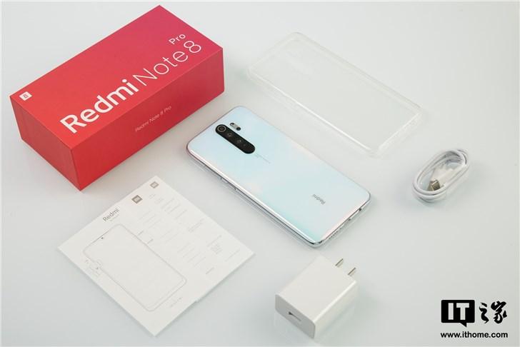 【IT之家开箱】Redmi Note 8 Pro手机图赏:四摄小金