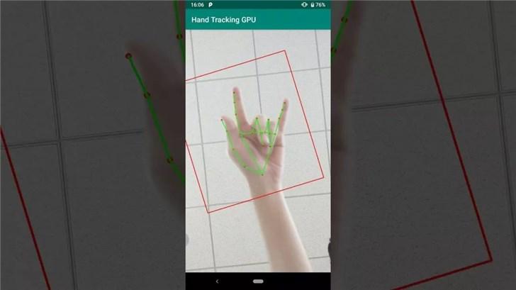 谷歌开发手部识别系统,手机可用