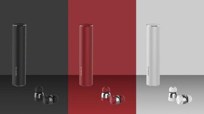 诺基亚公布真无线耳机新品:售价499元 圆柱形充电盒