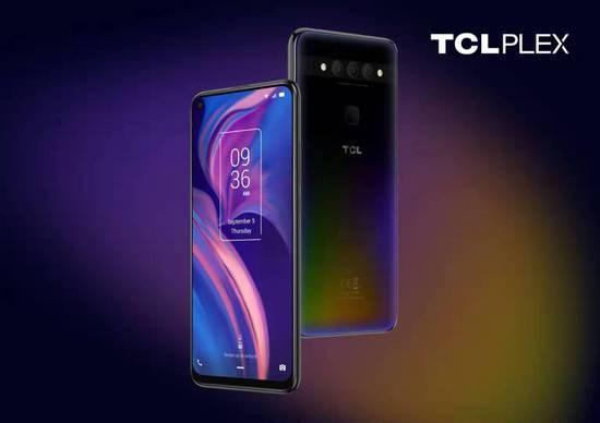 海外首款TCL品牌手机PLEX发布,2020年将推5G和折叠